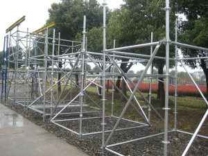 Galvanized Cuplock Scaffolding System for Sale