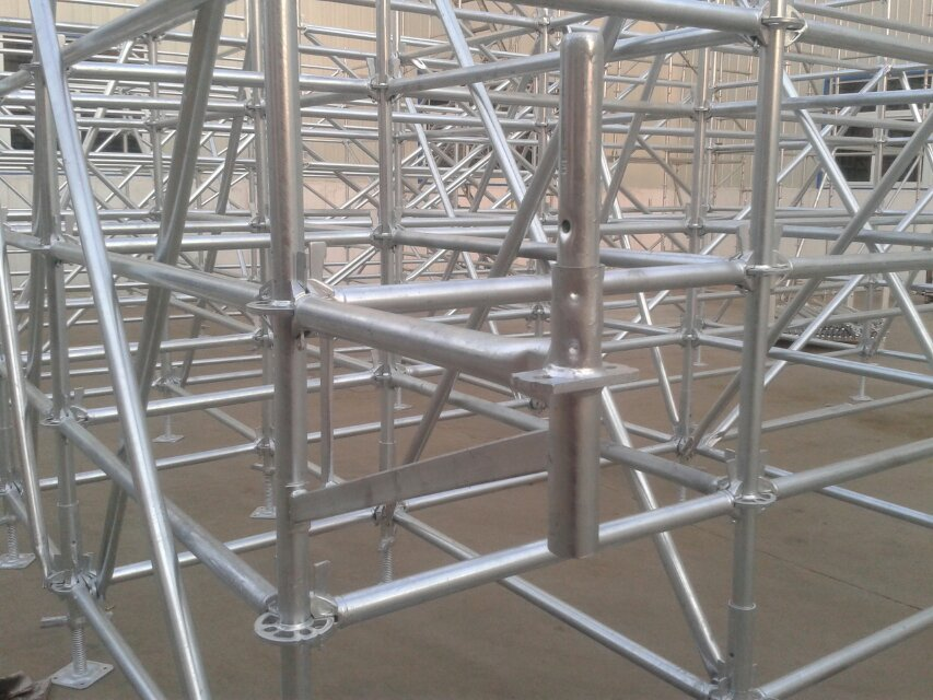Q235/Q345 Multidirectional Ringlock Scaffolding System