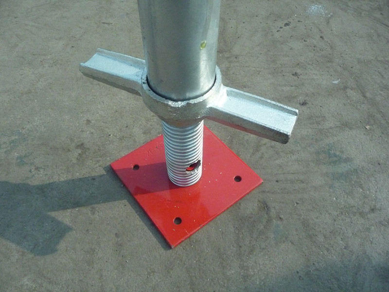 Base Plate for Shoring Frame Scaffolding (exterior)