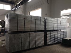 Scaffolding Walking Board in Galvanized Material