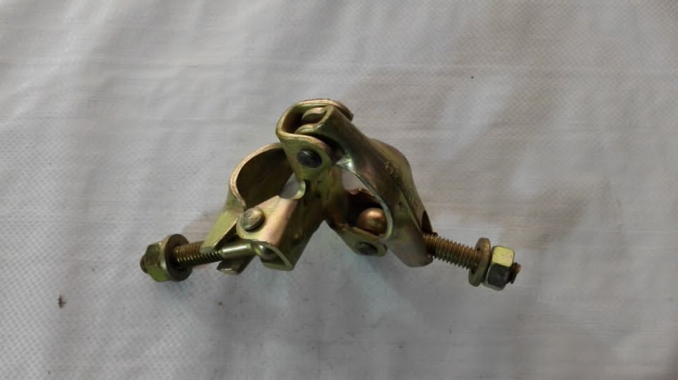 En74/ BS1139 Standard Scaffolding Pressed British Type Double Coupler
