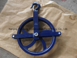 Scaffolding Gin Wheel with Painted Surface