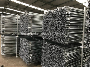 Galvanized Scaffolding Cross Brace for Frame Scaffold System