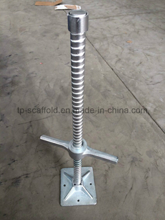 Mason Frame Scaffolding Adjustable Screw/Levelling Jack Base for Sale/Construction