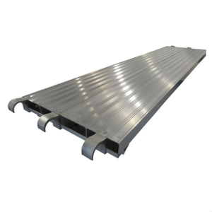 "All-Aluminum Scaffold Plank (Walk Board)(19"" & 19.25"" Wide Aluminum Deck)"