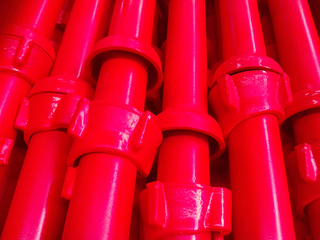 Cuplock Scaffolding Standard with Spigot Painted / Powder Coated / HDG