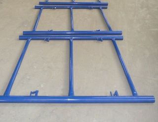 5′x4′ Shoring Frame Scaffolding Blue Powder Coated From Chinese Factory