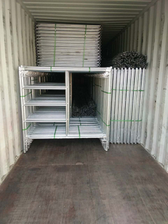 Hot DIP Galvanized Frame Scaffolding for Sale