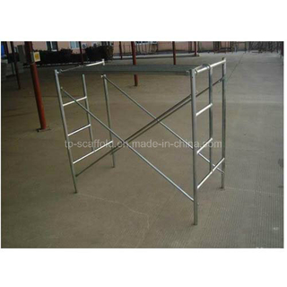 Durable Safe Scaffolding Mason Frame Ladder Frame for Scaffold Construction