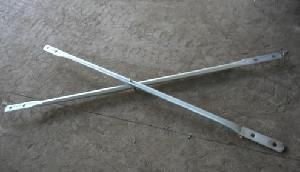 Punched Hole Cross Brace for Frame Scaffolding
