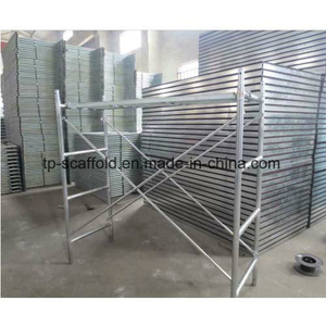 Safe Durable Steel Heavy Duty Shoring Frame Scaffolding