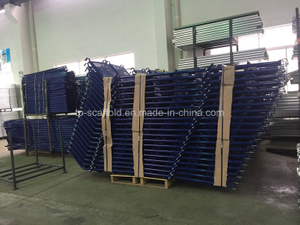 Powder Coated Steel Scaffold Stairs Starways for Scaffolding Frame