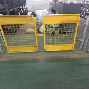 Scaffolding Safety Gate /Access Gate /Swing Gate with Yellow Color