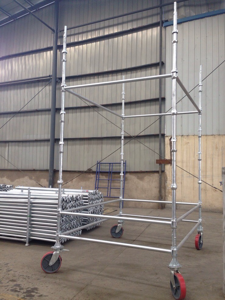 Cuplock Scaffolding Standard with HDG Surface for Sale